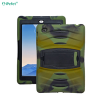 Heavy Duty Rugged Armor Shockproof Kickstand Tablet Cover Case For iPad Air 2