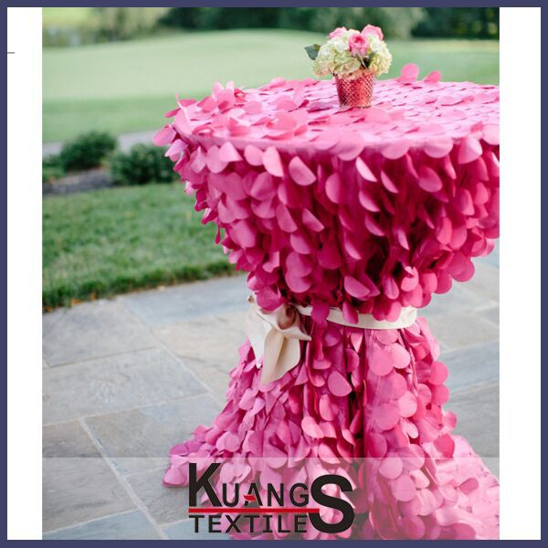 wedding coral table cloth