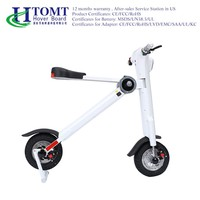 Battery Powered electric Foldable motorcycle three wheel 13 inch electric scooter