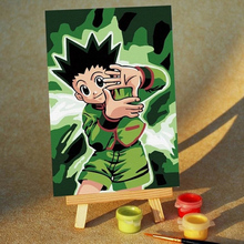 MA037 menglei paint digital painting canvas
