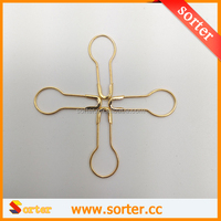 2016 hot sale Gold Gourd Bulb hangtag Pear-shaped safety pins