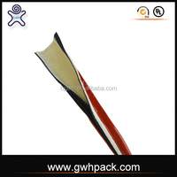 GWH fire resistant rubber high temperature wire sleeve with Velcro for high temperature appliance wire