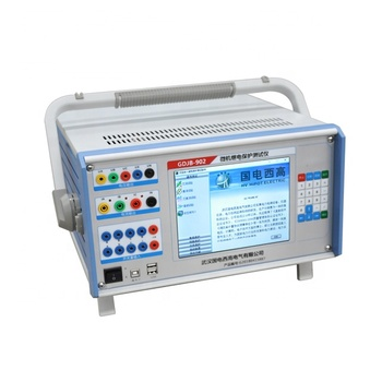 High speed relay tester relay protection test set secondary current injection tester