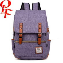 multi color business case canvas laptop bag for girls