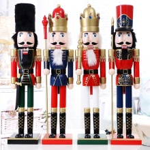 2017 Wholesale wooden life size nutcracker , christmas nutcracker soldier For Sale