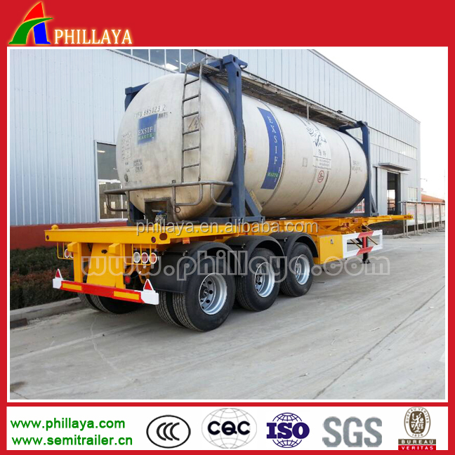 Refrigerator container semi trailer, High quality transport refrigerator container in truck trailer
