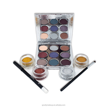2017 Professional Cosmetic Set for Women Wholesale price 10 Color Lipgloss 9 Color Eyeshadow 4 Color Eyeliner Holiday Makeup Set