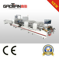 alibaba express automatic carton folder gluer / Boxing Machine / Folder Gluer