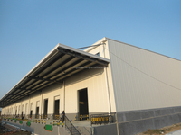 china low cost 1000 square meter warehouse building