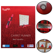Nonwoven Needle Punched Fabric Exhibition Red Carpet