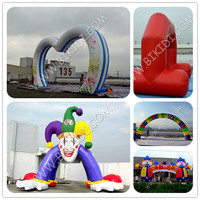 Durable Inflatable Arch/2015 PVC inflatable arch cheap sell/outdoor blow arches