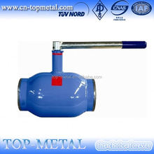 extended stem fully welded ball valve from factory
