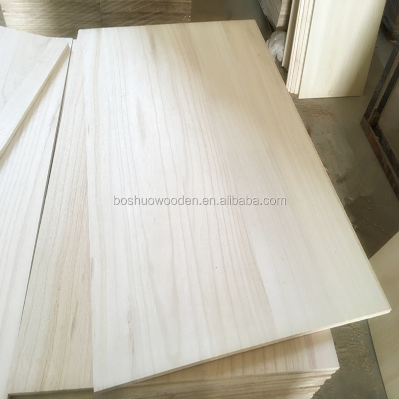Low price paulownia wood board solid wood board/paulownia wood price