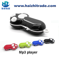 Mini Cartoon animal bear's paw shaped mp3 music player