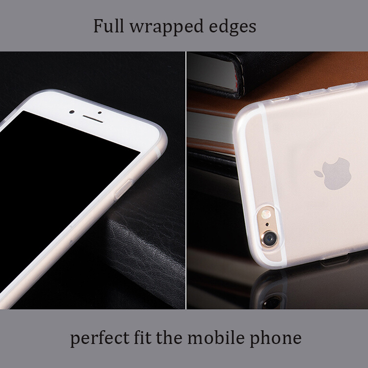 DFIFAN Wholesale Factory Price For Iphone 6s Case Semitransparent Phone Case For Iphone 6 Cover