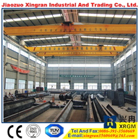 xinxiang electric lifting crane driving 4 wheel overhead crane