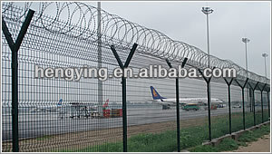 high-way and railway wire mesh fence,made in china