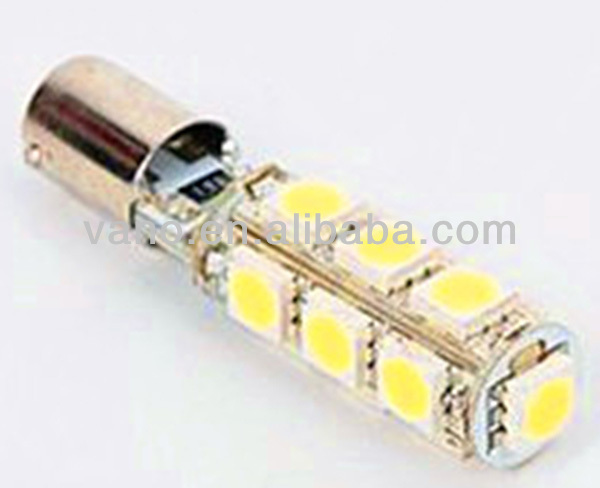 W2.1x9.5D 5 Leds 5050SMD super flux t10 led bulb