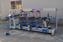 Woodworking horizontal multi spindle drilling machine