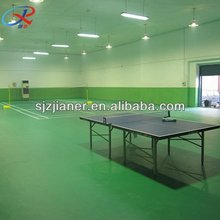 pvc vinyl sports flooring for pingpang