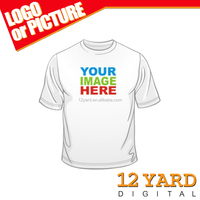 custom club team print summer T-Shirt image or logo & text T- Shirt