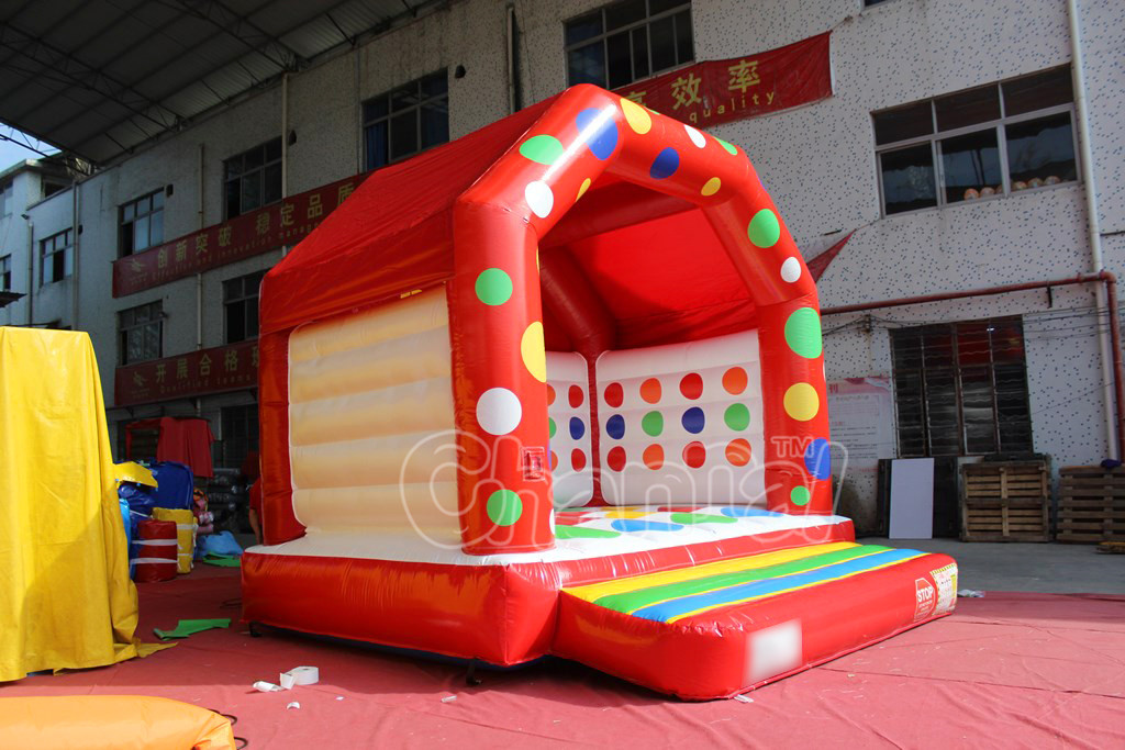 Small inflatable combo bouncing castle Bouncer inflatable bouncy castle inflatable cstle for sale