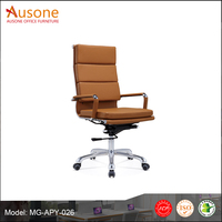 2017 Hot selling modern chair, luxury leather boss office chair