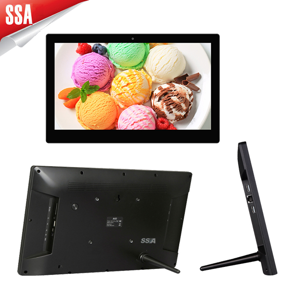 free sample 15.6 inch HD wall mounted android tablet pc