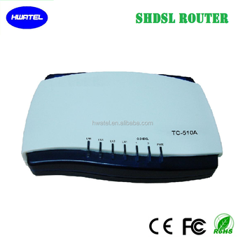 4 wire g. shdsl router modem with 4 port ethernet 11M bps