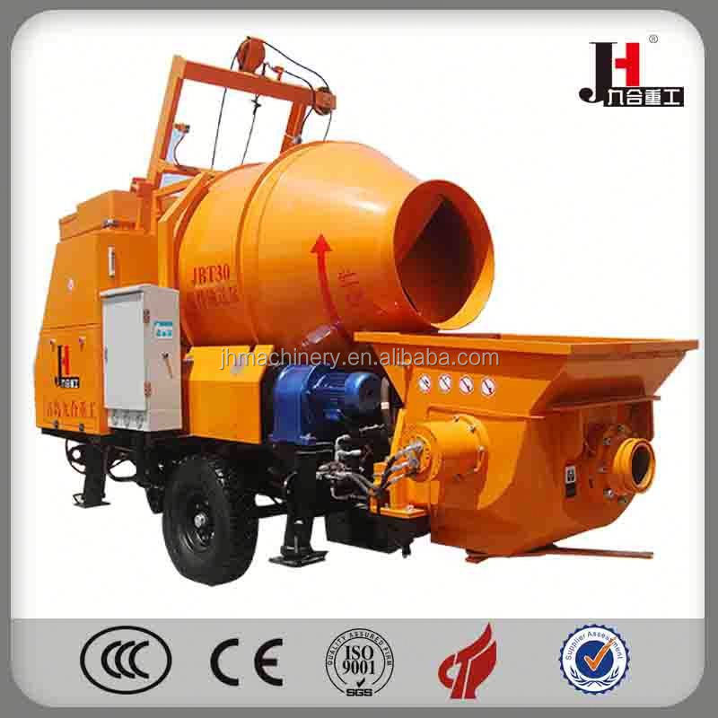 2015 Js500 Concrete Cement Pump Mixer Equipment