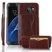 New arrival hot selling Flip shockproof credit card slot wallet stand phone case for samsung s7 leather case Koolife PU Stand