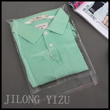 Plastic Clear Shirt/clothes Packing Poly Self Adhesive Bag For Apparel/clothing Factory