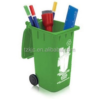 Cute Mini trashcan shape Stationery Container