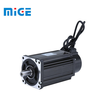 small electric motor 220v 730W single phase CNC machine Mige servo motor