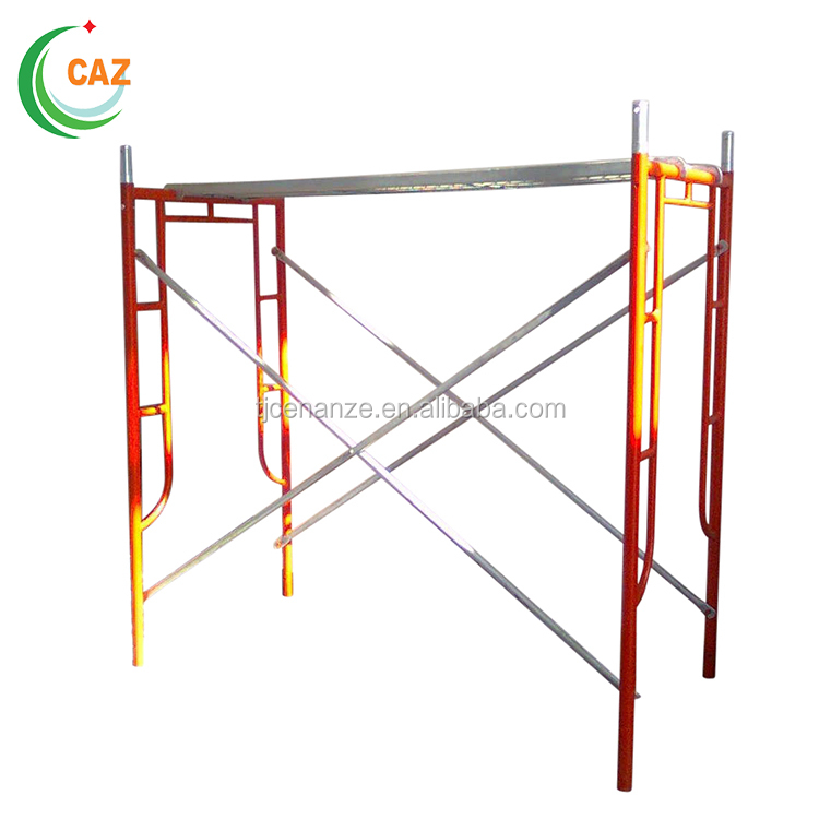 High Quality Factory Price Galvanized Mobile Narrow Scaffolding Towers Arch Walkthrough Frame