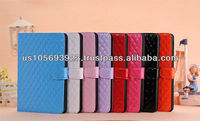 Christmas model PU leather smart cover case for Mini Ipad