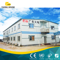 High Quality Low Cost Light Steel Refugee Prefab House