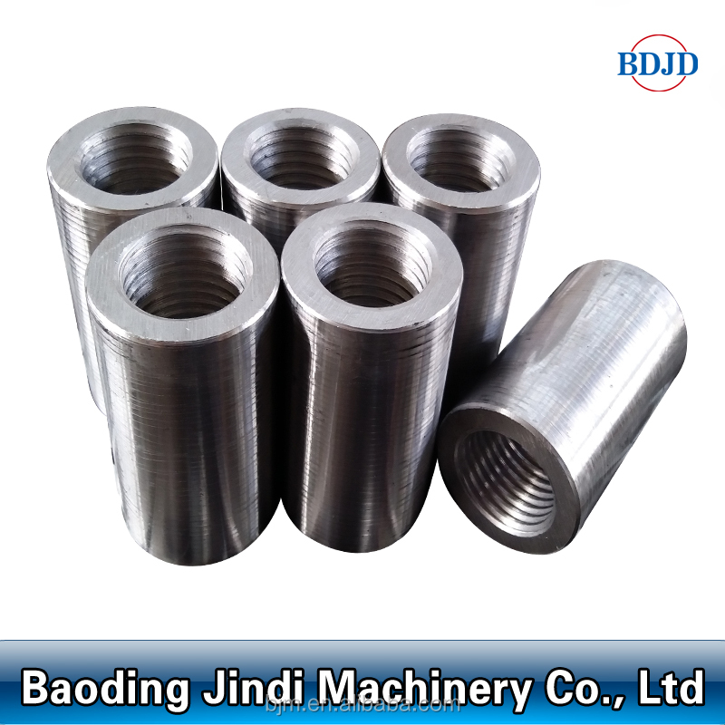 steel material building tools quick jointing splicing rebar coupler