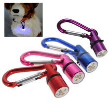 Various Color Pet LED Flashing Aluminum Carabiner for Safety