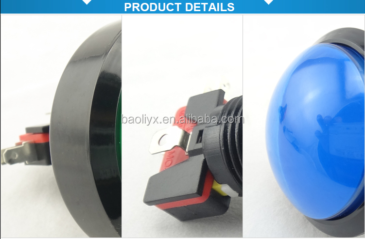 Game machine waterproof on off push button switch dome button Made in China push bottom
