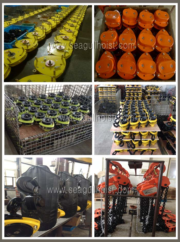HSZ-A 3 ton chain pulley block ,manual chain hoist with 30 yrs