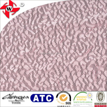 Chuangwei Textile 43999# variety nylon spandex mesh lace fabric for one-piece dress