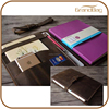 High quality Handmade Genuine Leather Notebooks cover hard cover notebook with pen and phone case