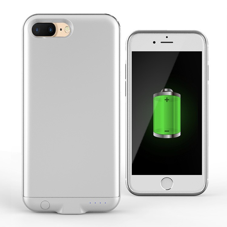 For iphone 7 battery case charger with led light,factory direct sale battery case for iphone 7