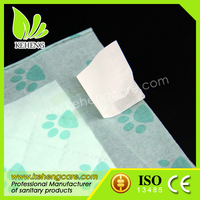 waterproof adhesive tape fabric absorbable pet pad