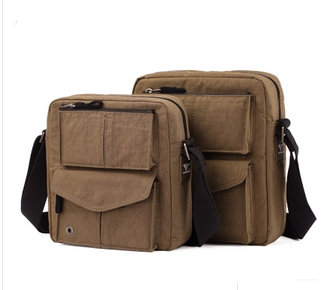 2016 fashion men's canvas messenger bag shoulder holster