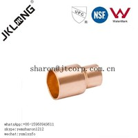 J9010 Copper fitting Reducing Coupling for copper pipe