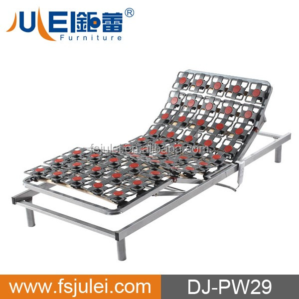 modern new soft electric adjustable slat/chop bed frame DJ-PW29 (home furniture)