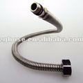 "F1/2"" XM10x1 AISI304 316L high quality metal corrugated flexible hose for water"