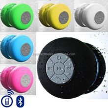 FACTORY DIRECT SELLING MINI Sucker Subwoofer Waterproof Wireless Bluetooth Speaker Car Handsfree Shower Bluetooth speaker